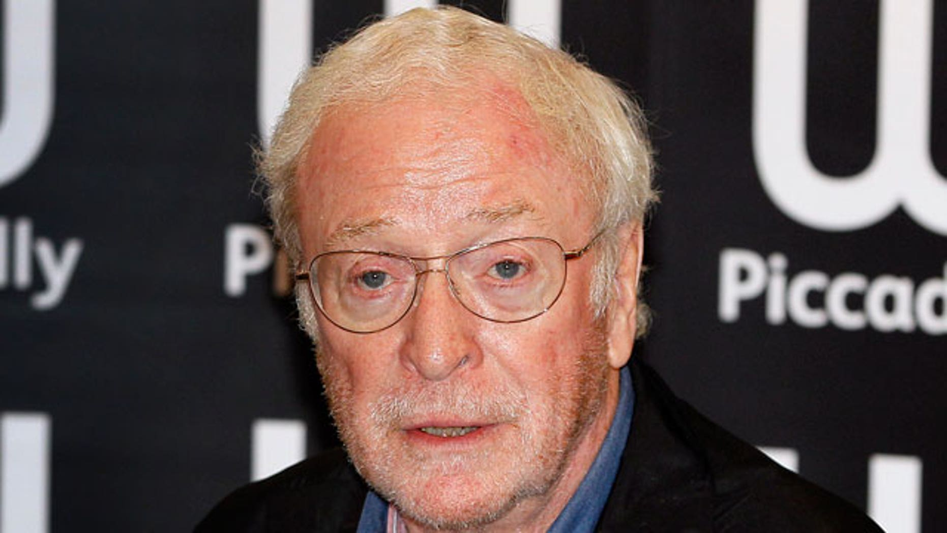 British Actor Michael Caine