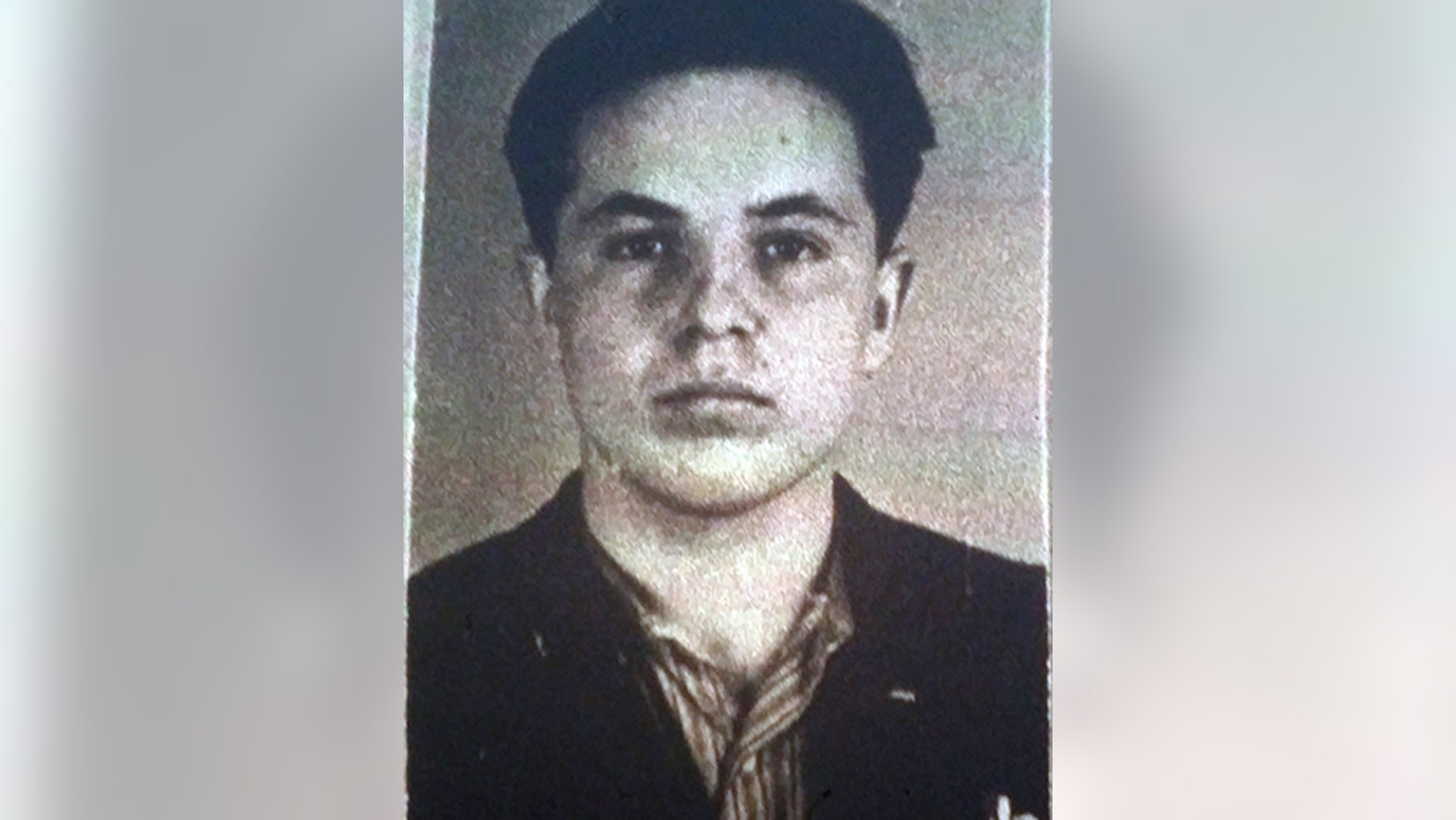 This undated photo of Michael Karkoc accompanied his application for German citizenship filed with the Nazi SS-run immigration office in 1940.