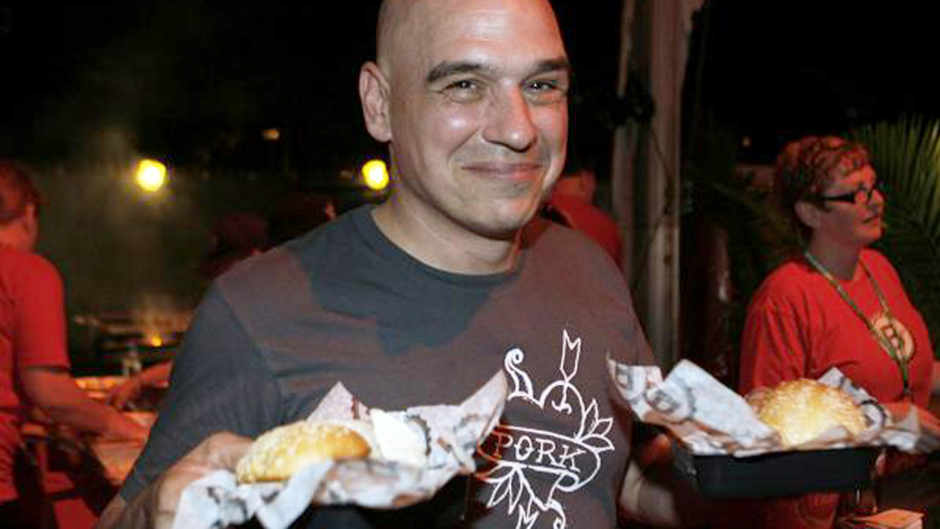 Chef Michael Symon is known for his love of meat.