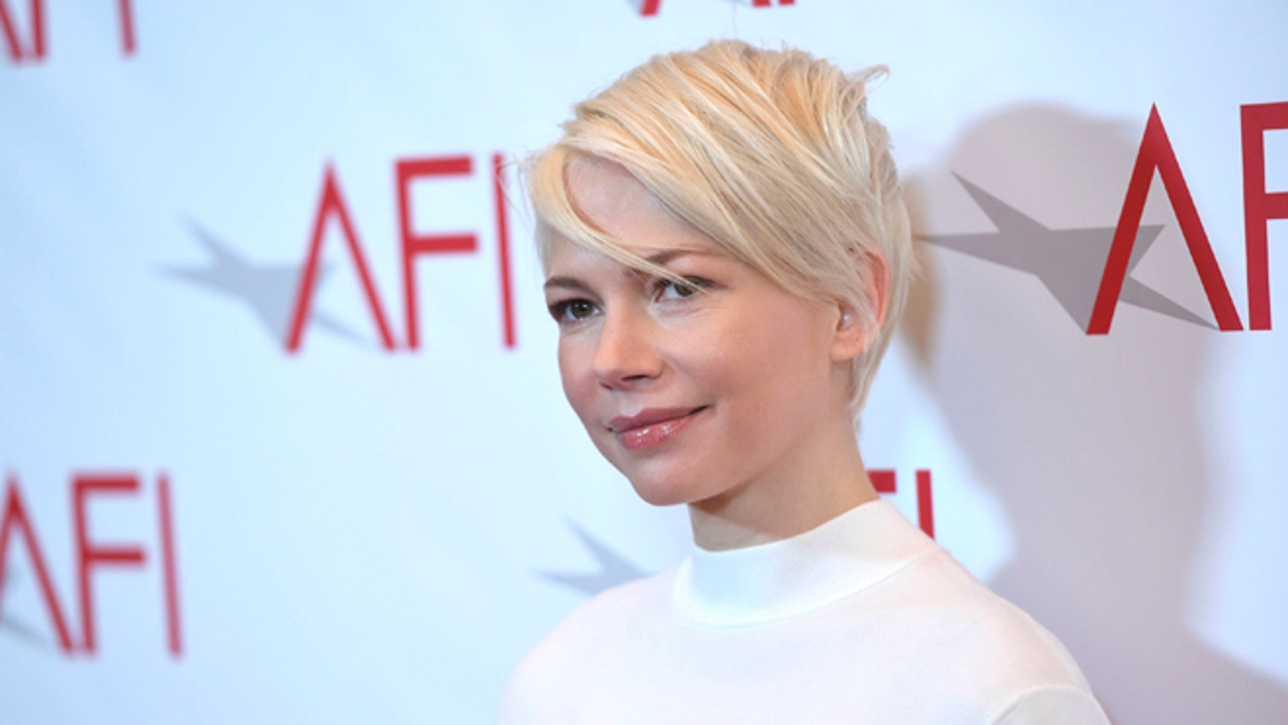Michelle Williams at the AFI Awards.