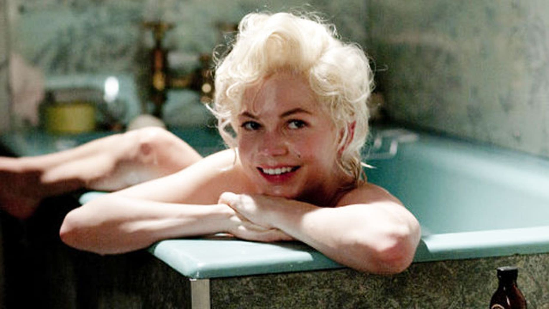 Michelle Williams as Marilyn Monroe in 'My Week With Marilyn.' Her co-star Kenneth Branagh said Monroe brought sex to Britain.