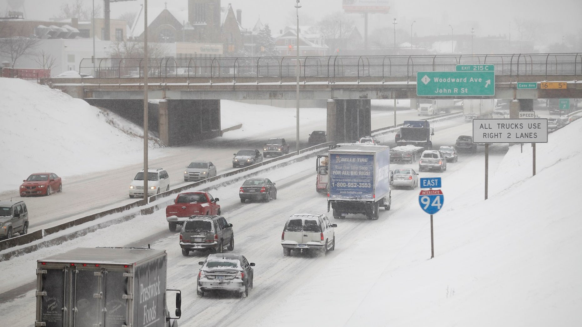 Drivers can follow several winter driving tips to deal with inclement weather.
