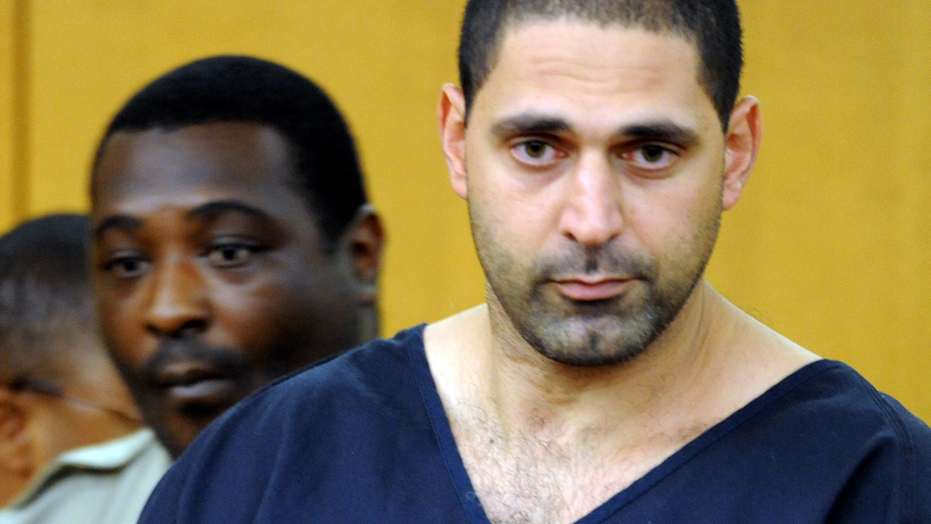 In this Aug. 13, 2010 file photo, Elias Abuelazam attends an extradition hearing in Fulton County Superior Court in Atlanta.