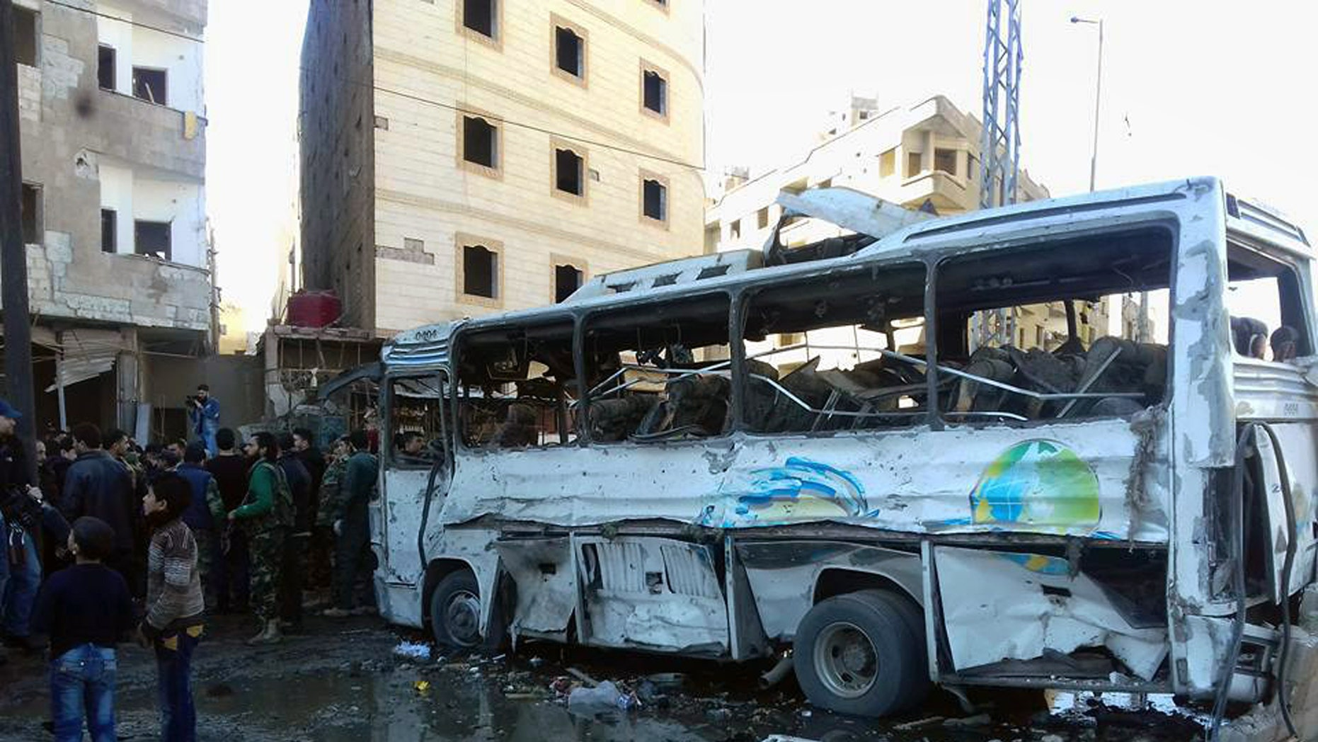 ISIS claimed responsibility for a triple bombing in Damascus.