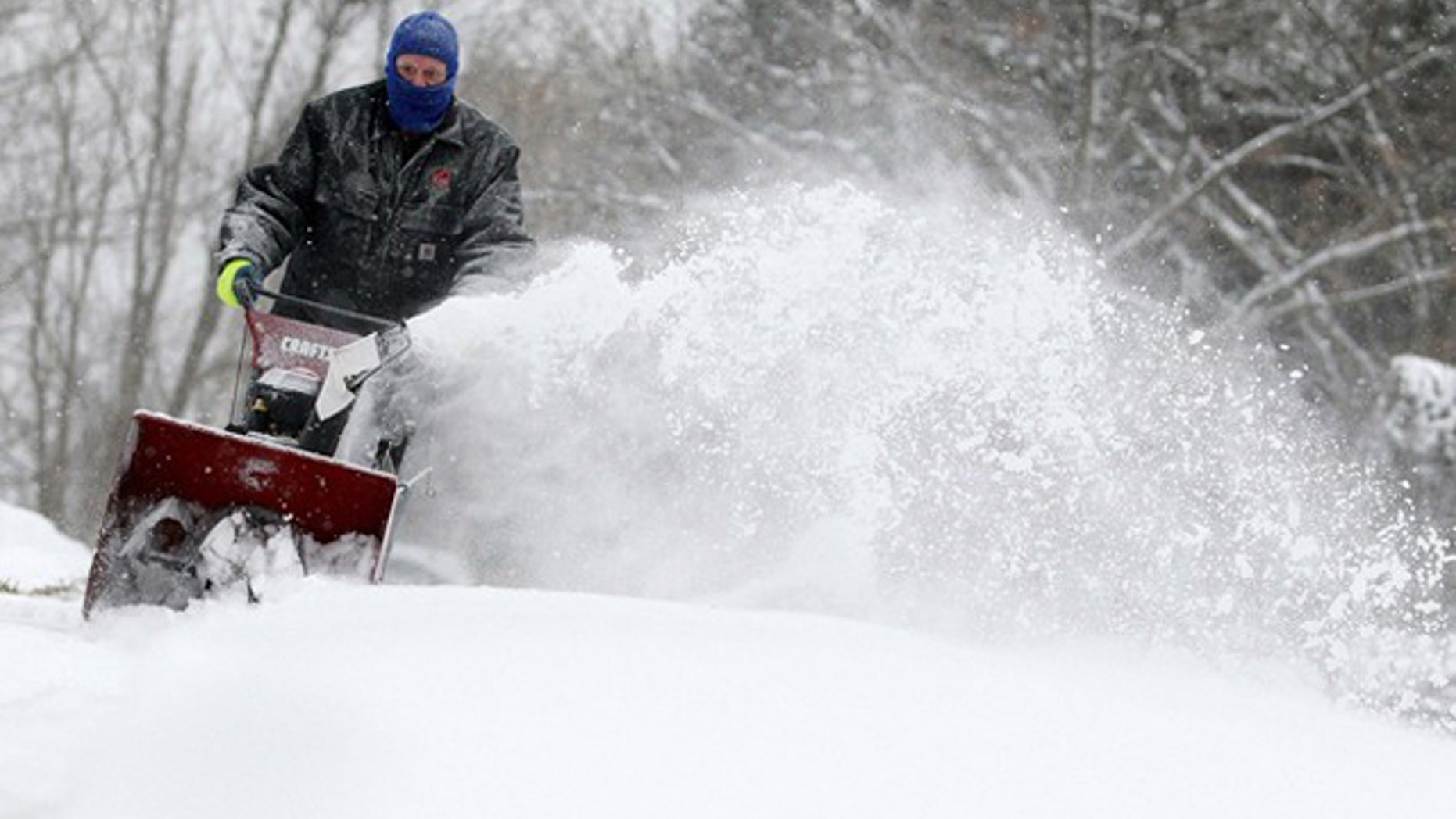 The nation's midsection is bracing for a massive winter storm that could bring several inches of snow and ice to much of the Plains and Midwest early this week (Reuters).