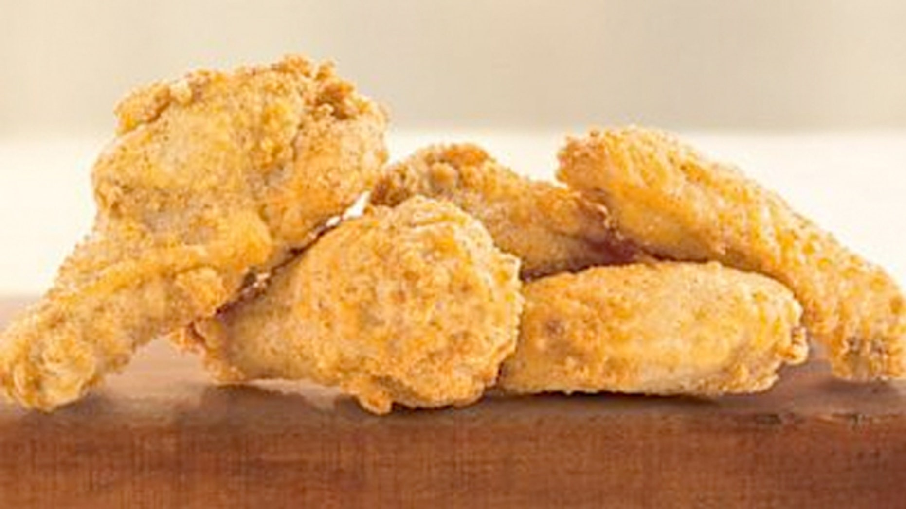 McDonald's is selling its Might Wings at a clearance rate of $.60 each.