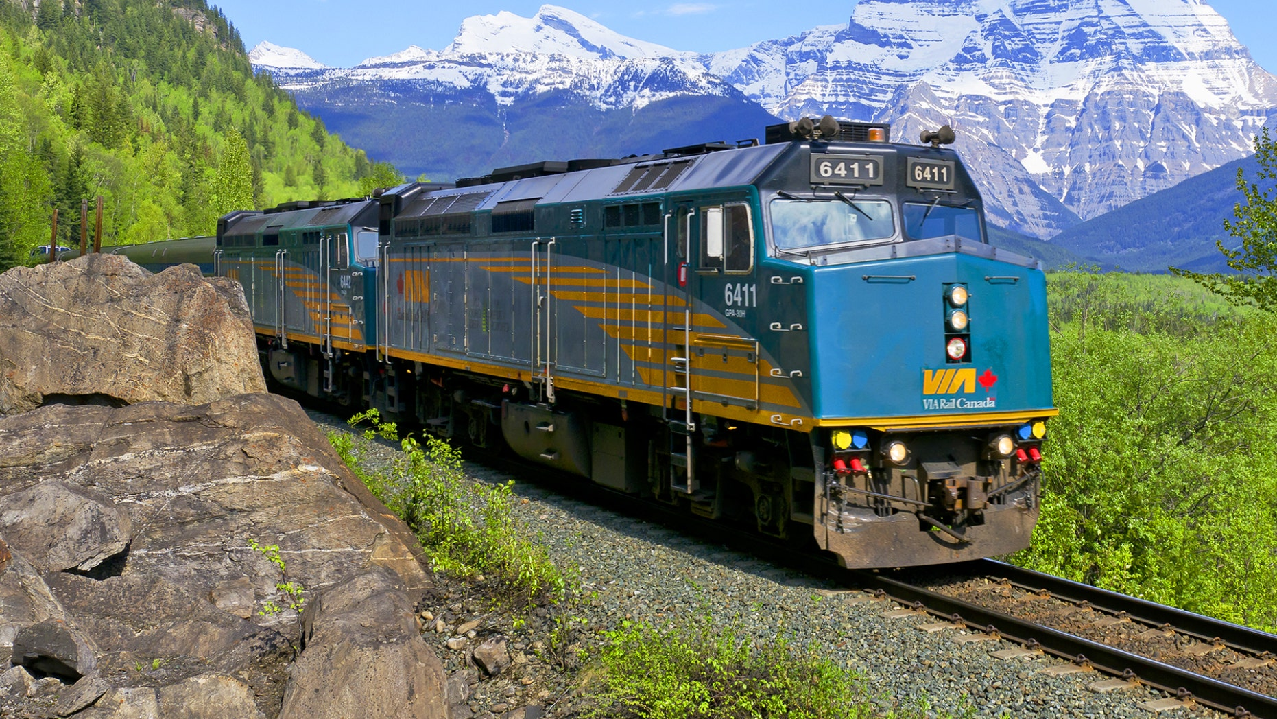 """Trains, like The Canadian, are making a statement in the Smithsonian Channel's second season of """"Mighty Trains."""""""