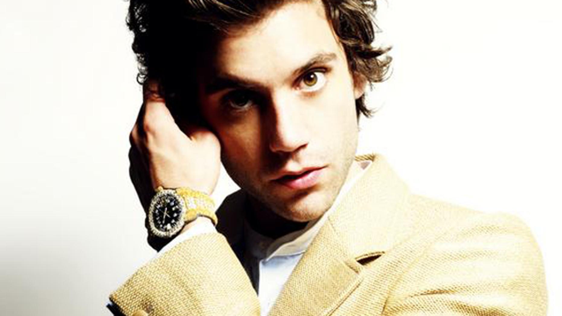 U.K. pop star Mika.