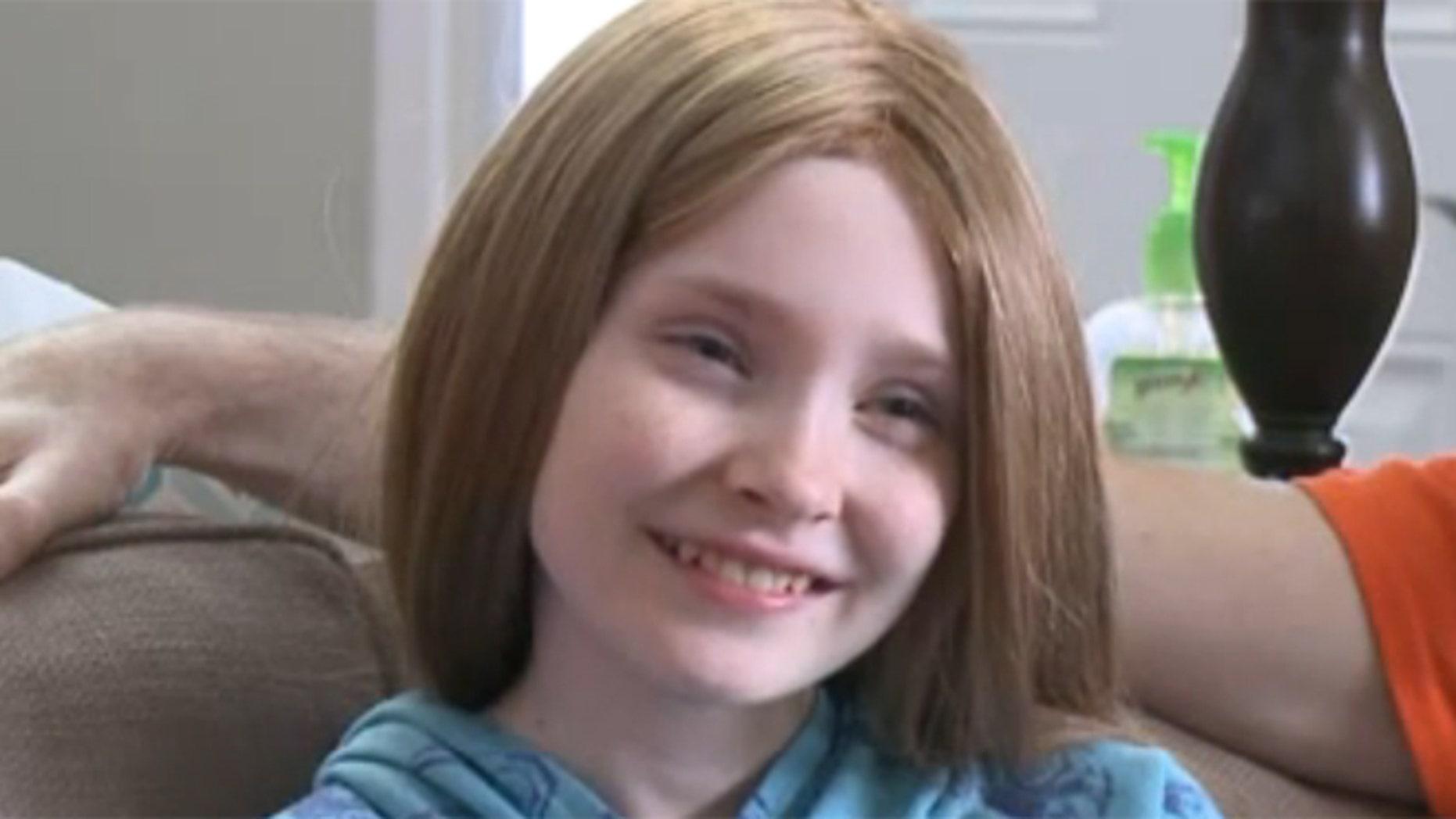 Mikayla Donahue is battling acute myeloid leukemia.