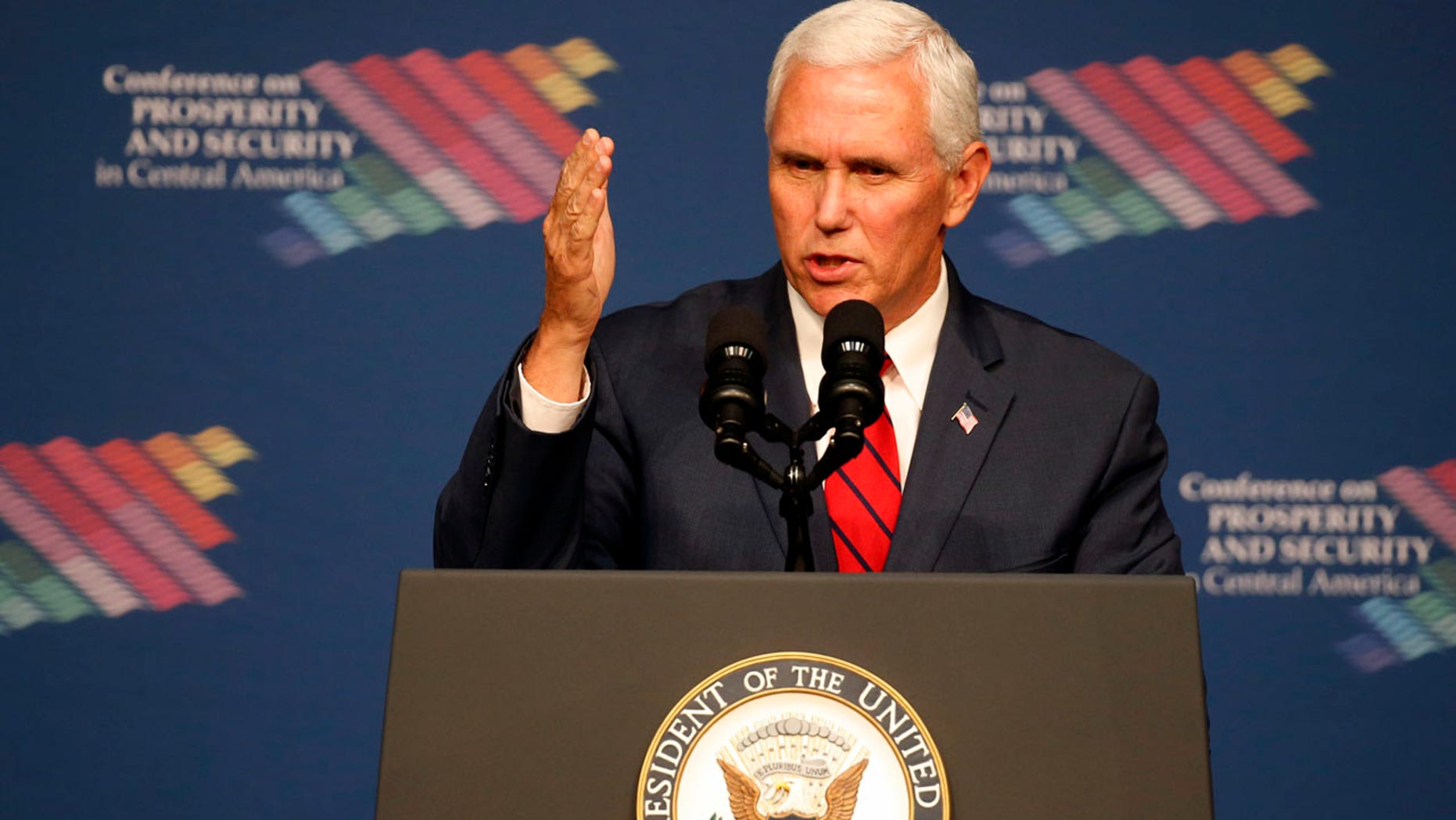 """Vice President Mike Pence promised on Friday that the U.S. would take """"strong and swift economic actions"""" if the vote went ahead."""