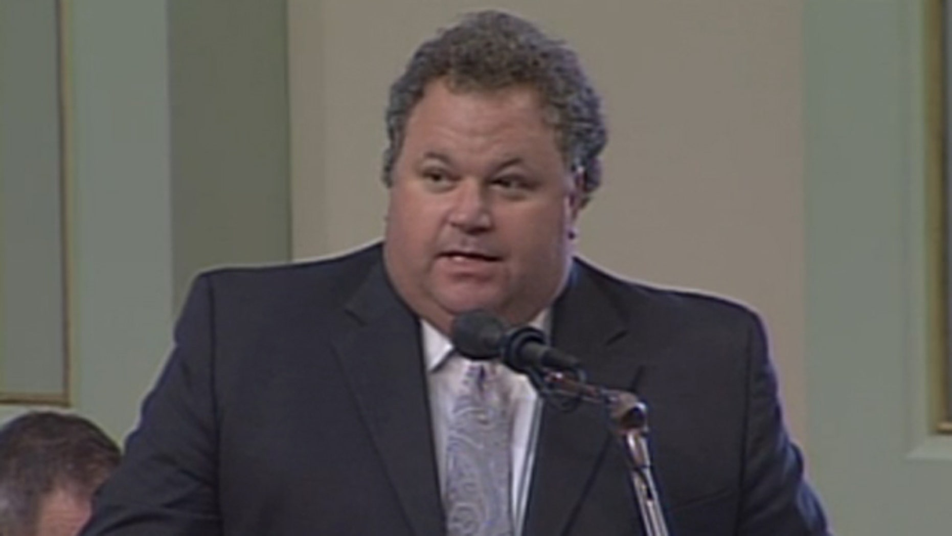 Shown here is California Assemblyman Jeff Miller.