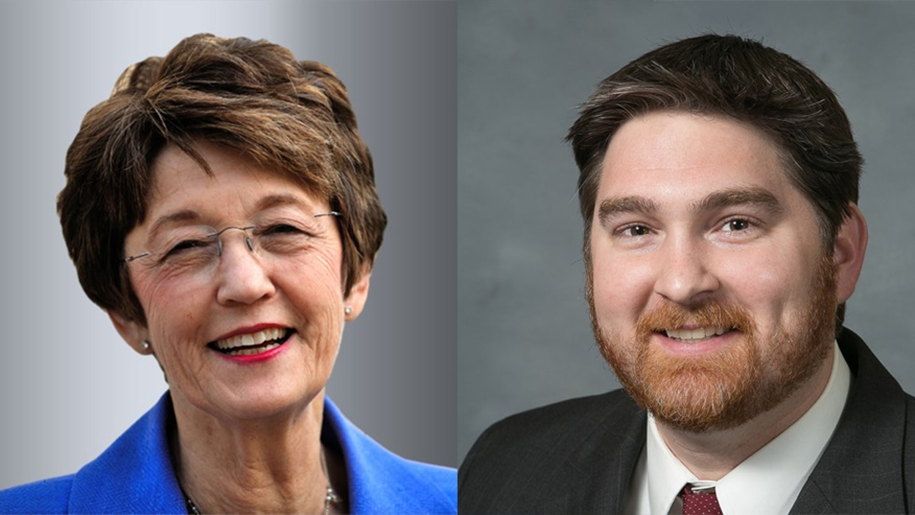 N.C. Secretary of State Elaine Marshall and N.C. State Rep. Christopher Millis.