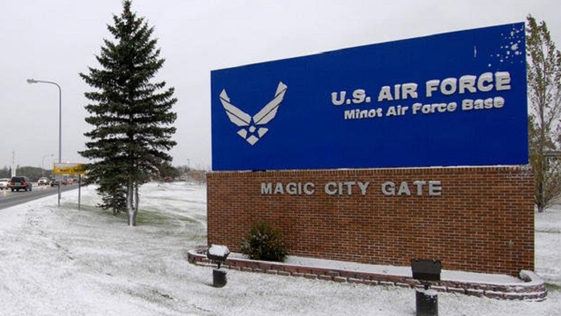 Authorities are searching for a missing machine gun from a North Dakota base.
