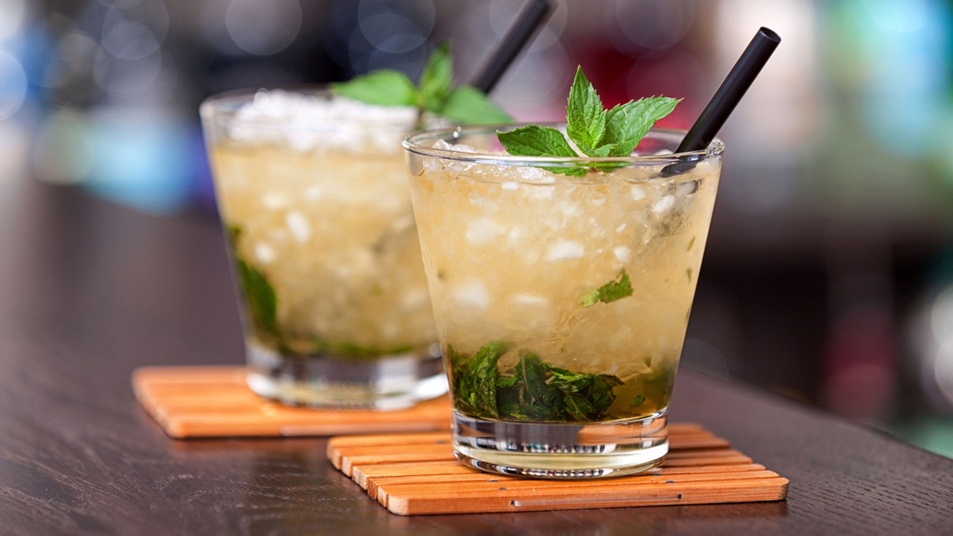 It's National Bourbon Day. Enjoy a cocktail!