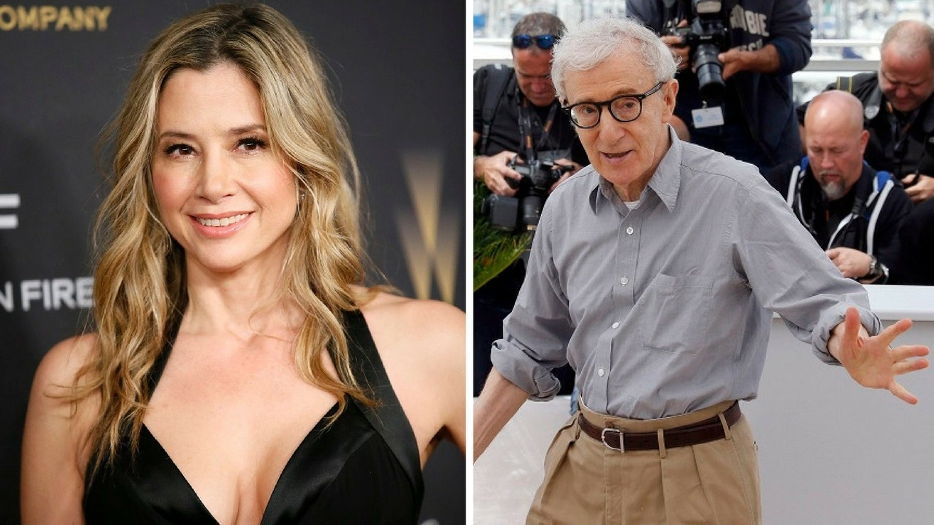 Mira Sorvino penned a letter telling Dylan Farrow she believed her sexual abuse allegations against her adoptive father Woody Allen.
