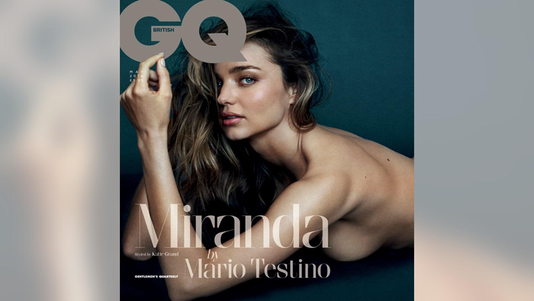 Miranda Kerr - British GQ Cover Shoot BTS w/ Mario Testino