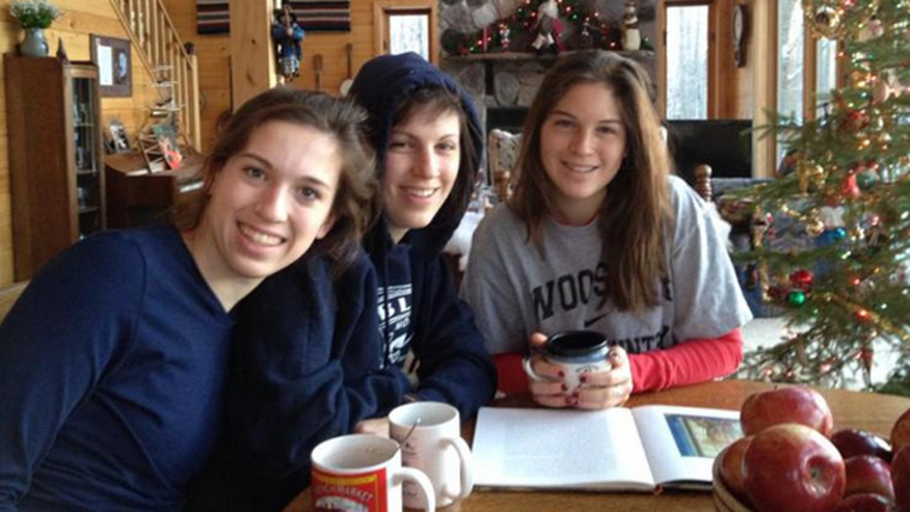 Three Midwestern sisters who disappeared during an excursion into the Wyoming wilderness on Tuesday were found alive Thursday, a search official said.