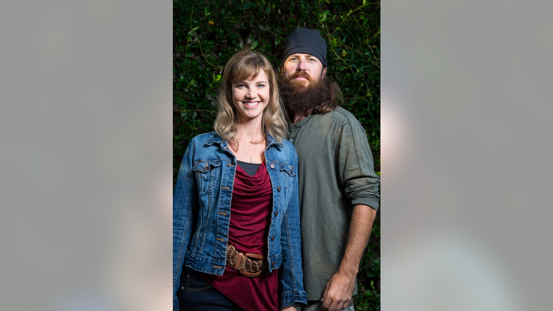 "Missy and Jase Robertson from ""Duck Dynasty."""