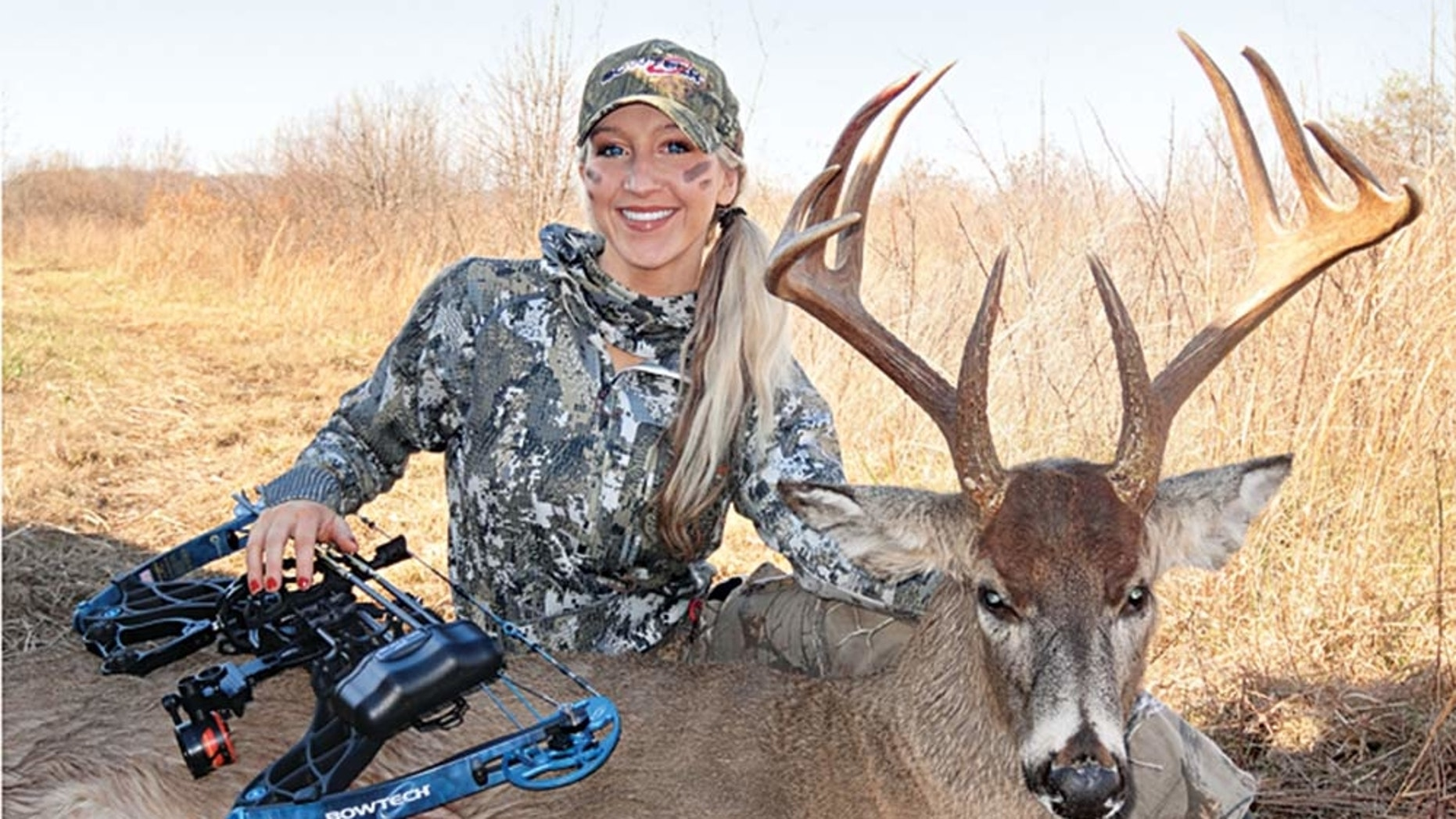 Misty Loggins says respect and patience played a huge part in bagging a mature buck.