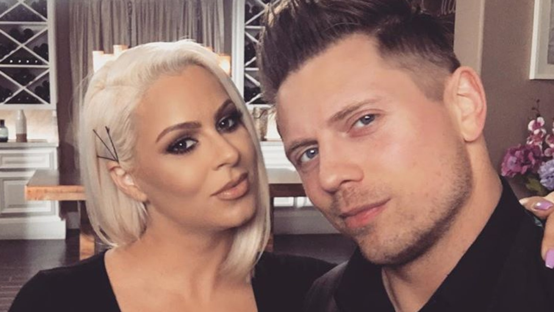 """'The Miz"""" and his wife Maryse welcome their first child."""