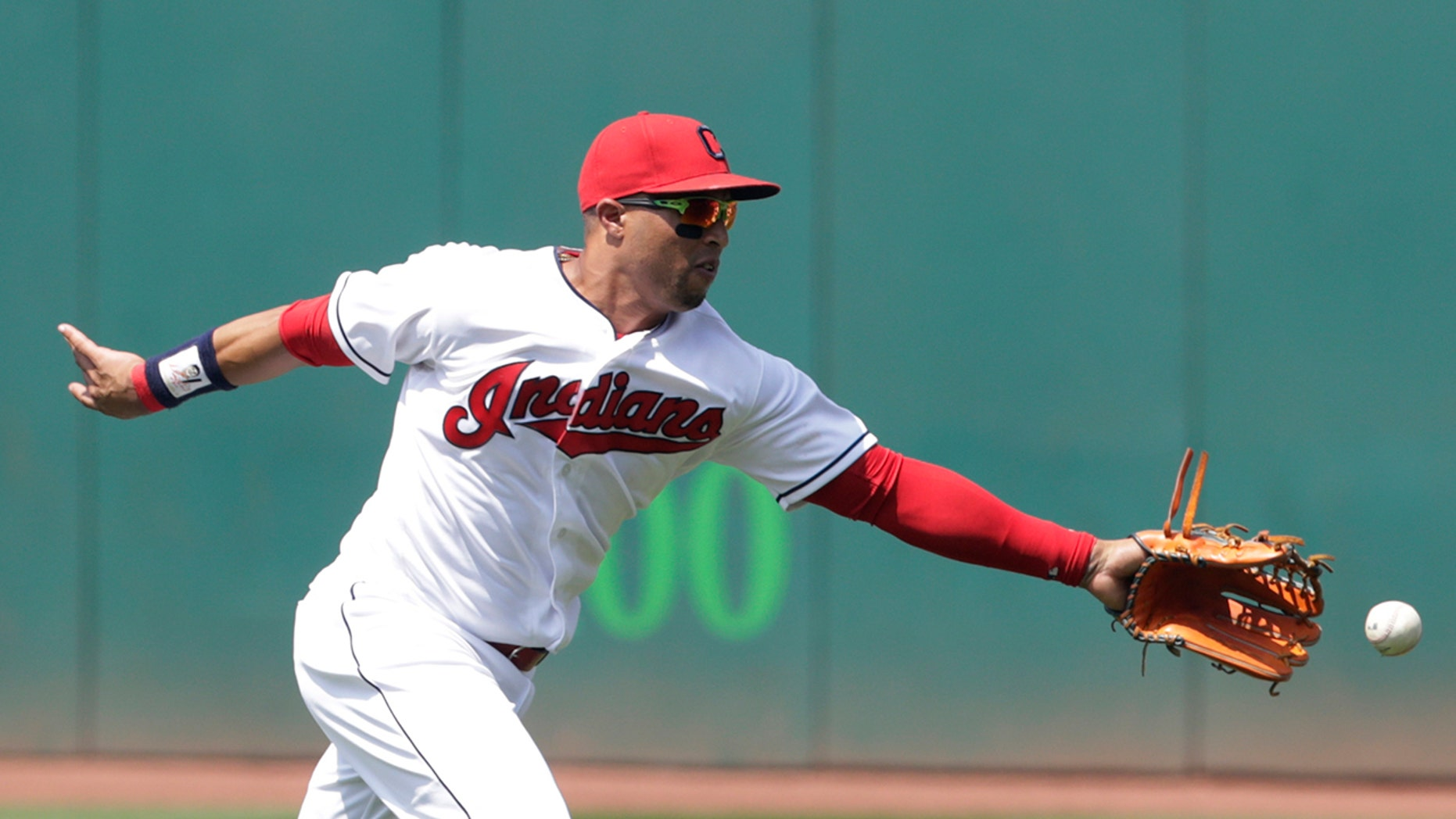 Indians' Leonys Martin was recovering from life-threatening bacterial infection.