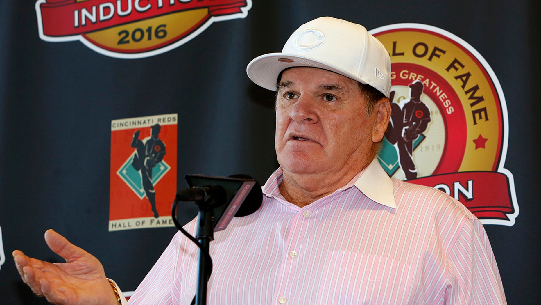 Pete Rose is accused of gambling thousands of dollars.