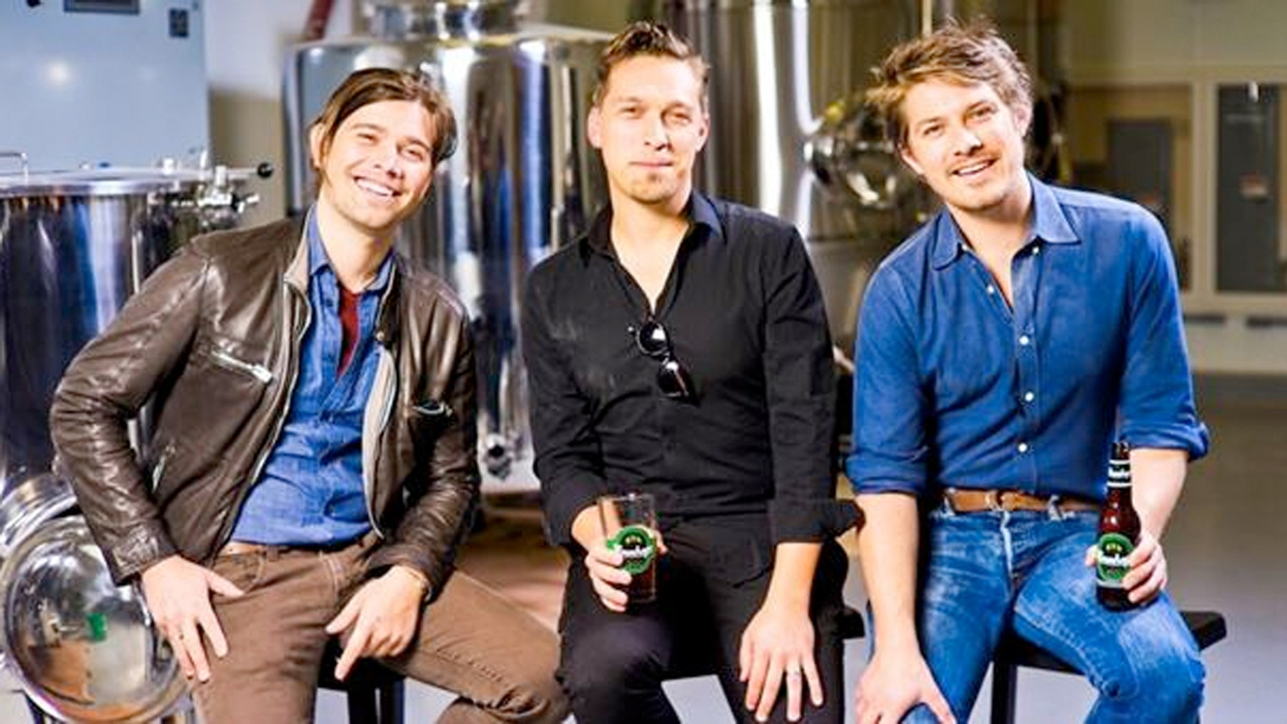 Hanson hops from singing MMMBop are brewing their own beer.