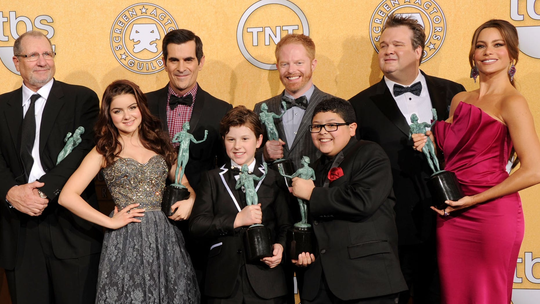 The cast of 'Modern Family' (Photo by Jason Merritt/Getty Images)