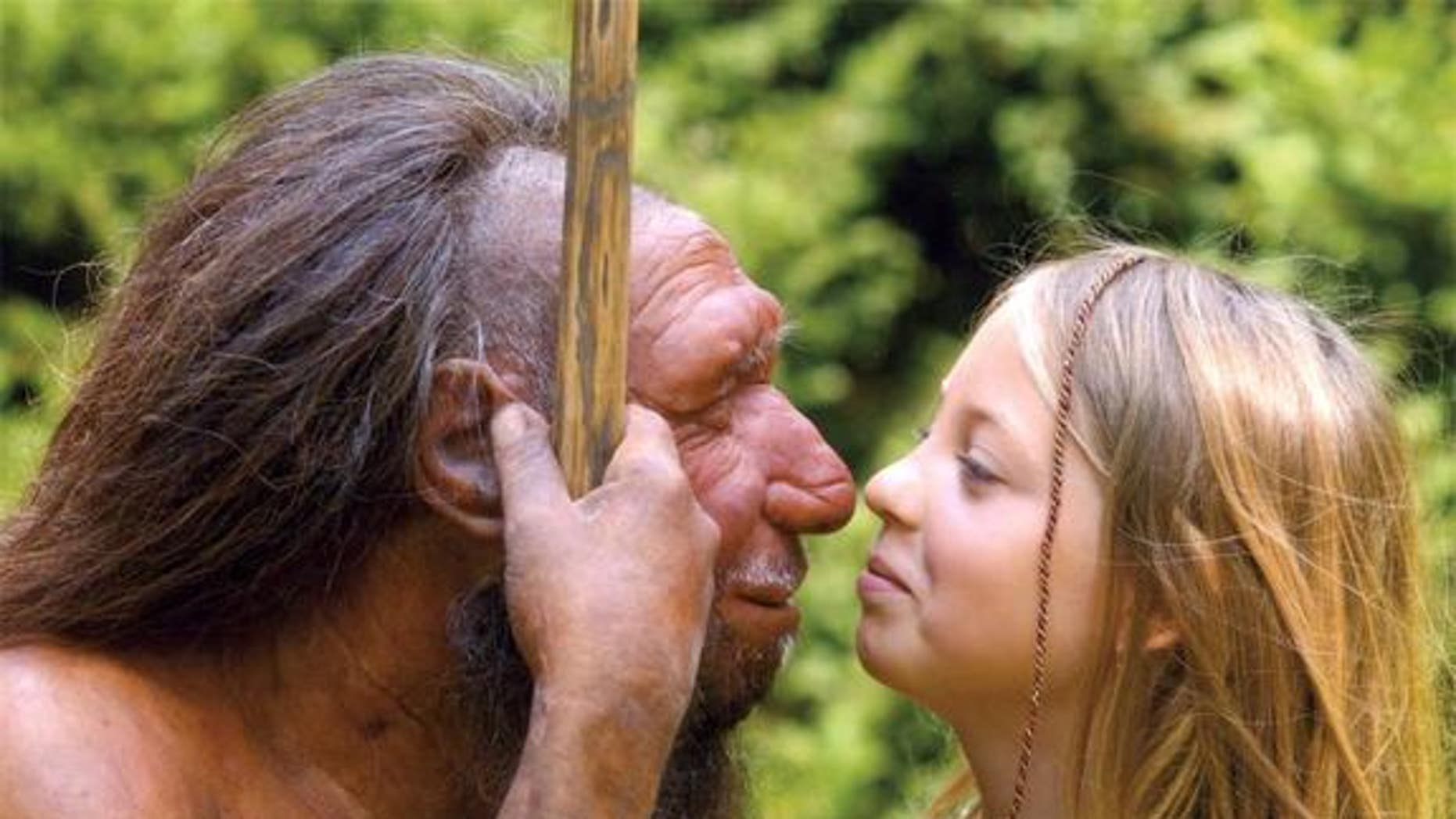 """Neanderthals had a characteristic """"bun head"""" shaped skull which allowed for expanded visual processing in the back of the brain. That left them less head space for the frontal lobe, which governs social cognition."""