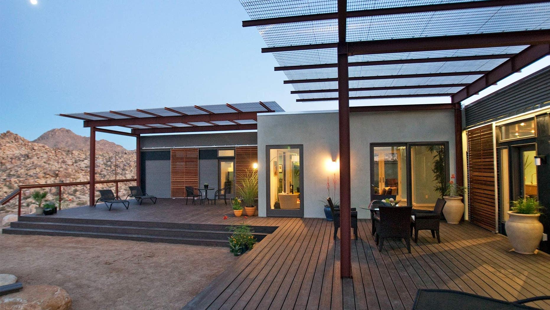 What is a modular home? modular home in joshua tree.