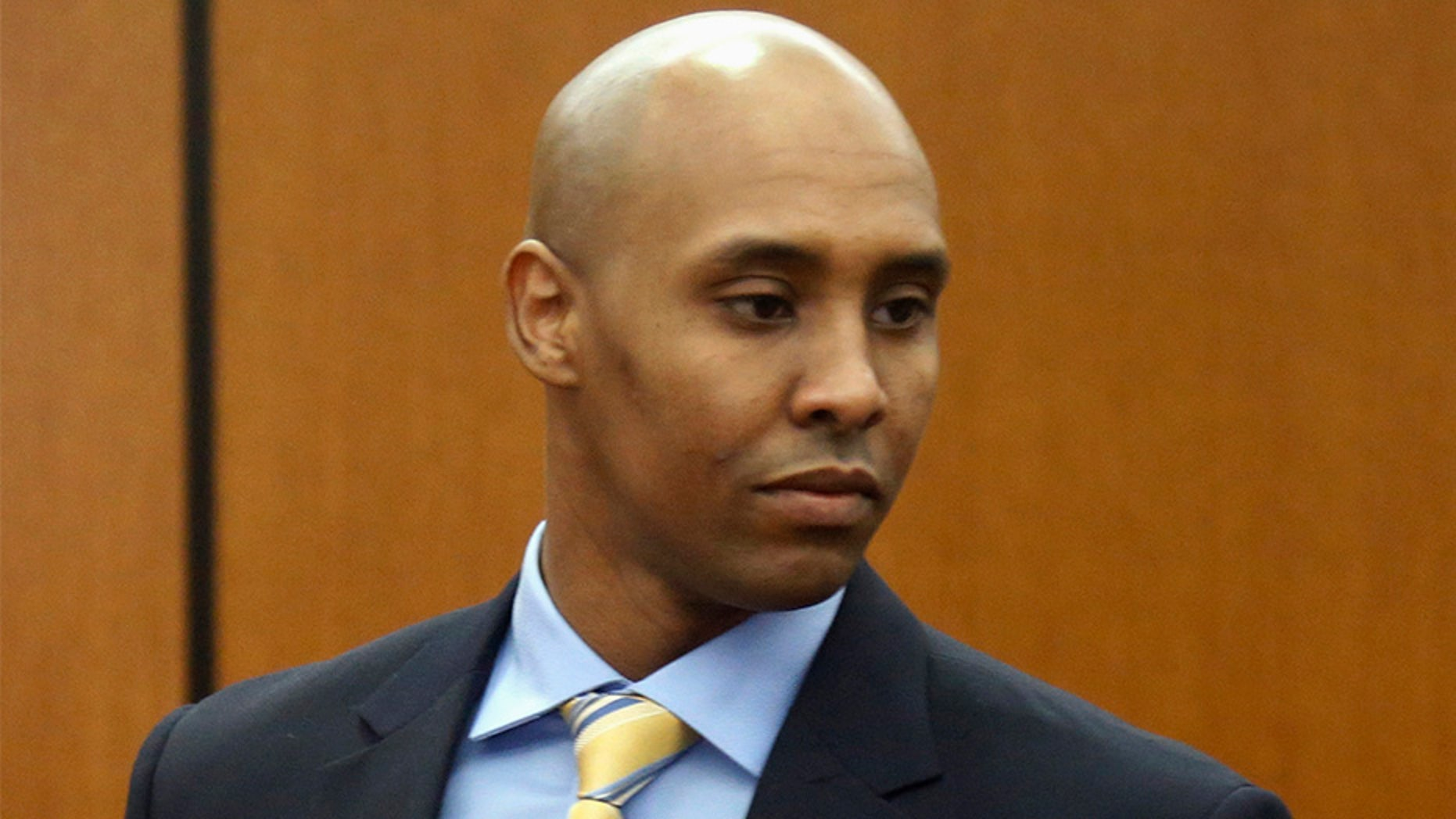 Former Minneapolis police officer Mohamed Noor appeared at the Hennepin County Government Center in May for a hearing on the case.