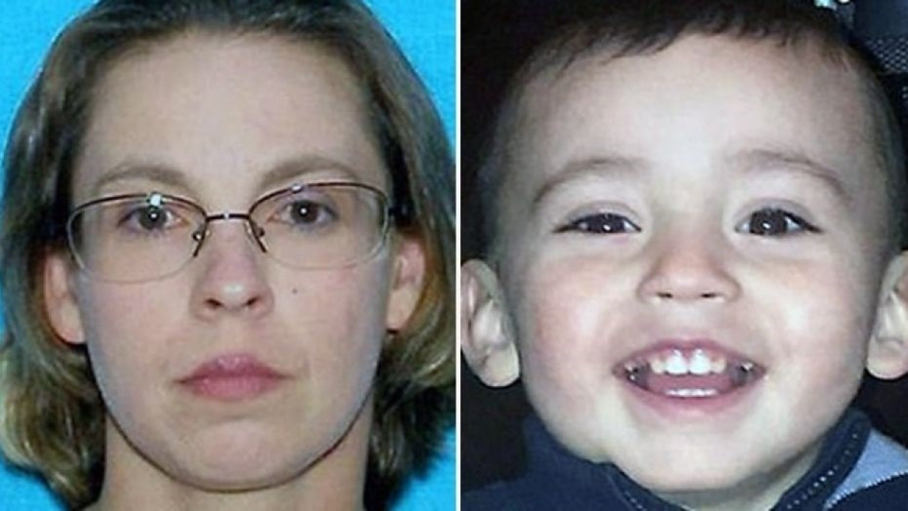 Evidence showed a Kansas toddler found encased in concrete was likely abused, police said.