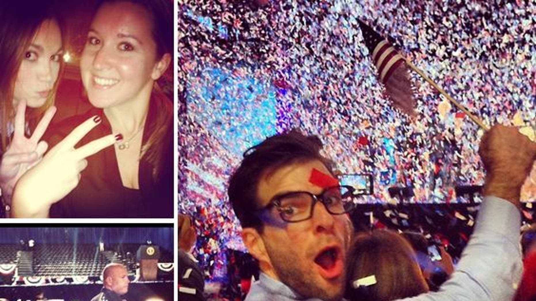 """Election night was a big """"moment"""" for President Obama with more than 1,200 photos from users."""