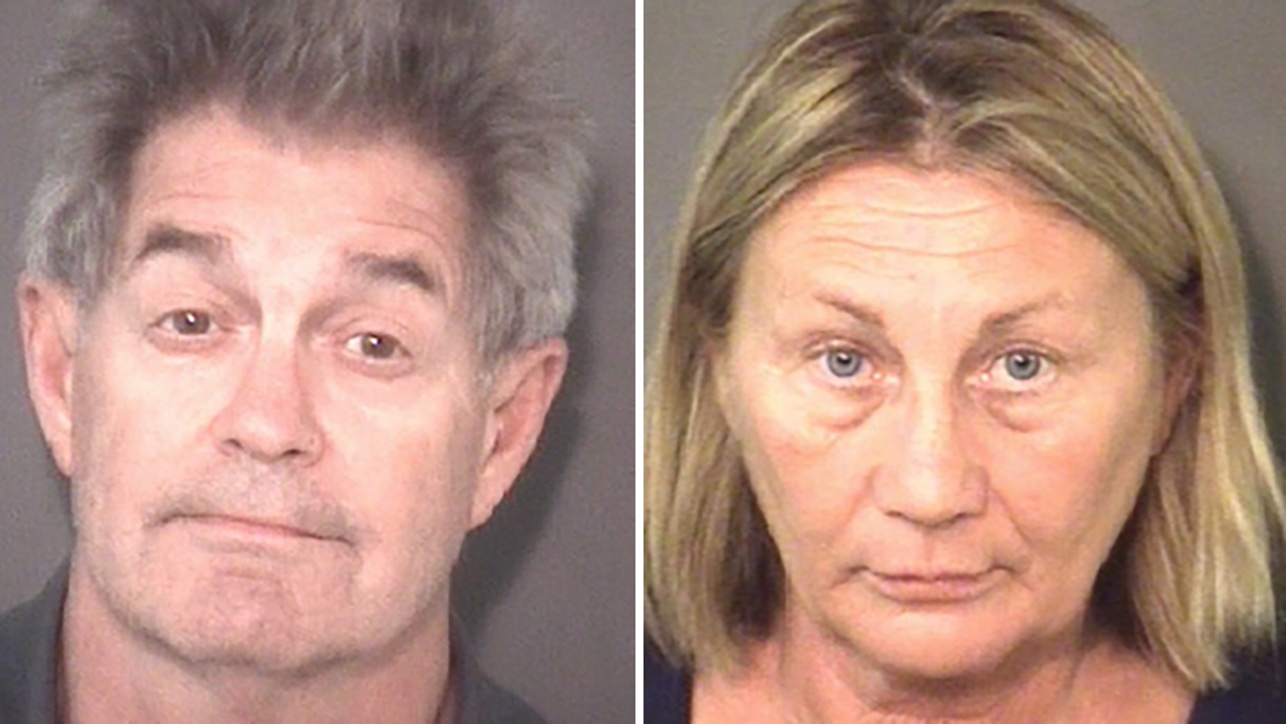 Tunis and Georganne Selby are charged with scamming thousands of dollars from families looking to buy monuments for their deceased loved ones.