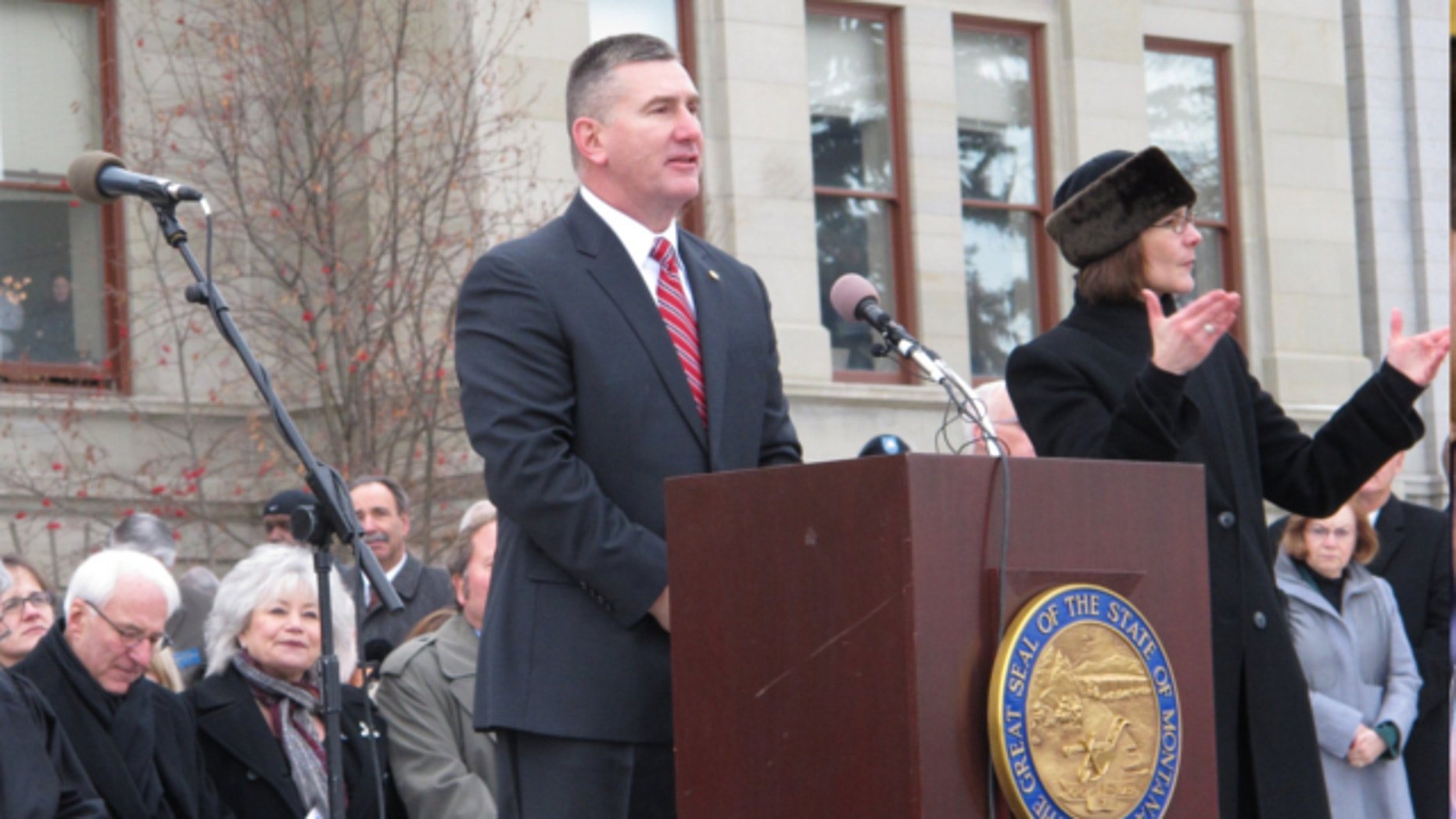 FILE: Jan. 7, 2013: Montana Lt. Gov. John Walsh announced his candidacy for the U.S. Senate seat being vacated by Max Baucus after next year.