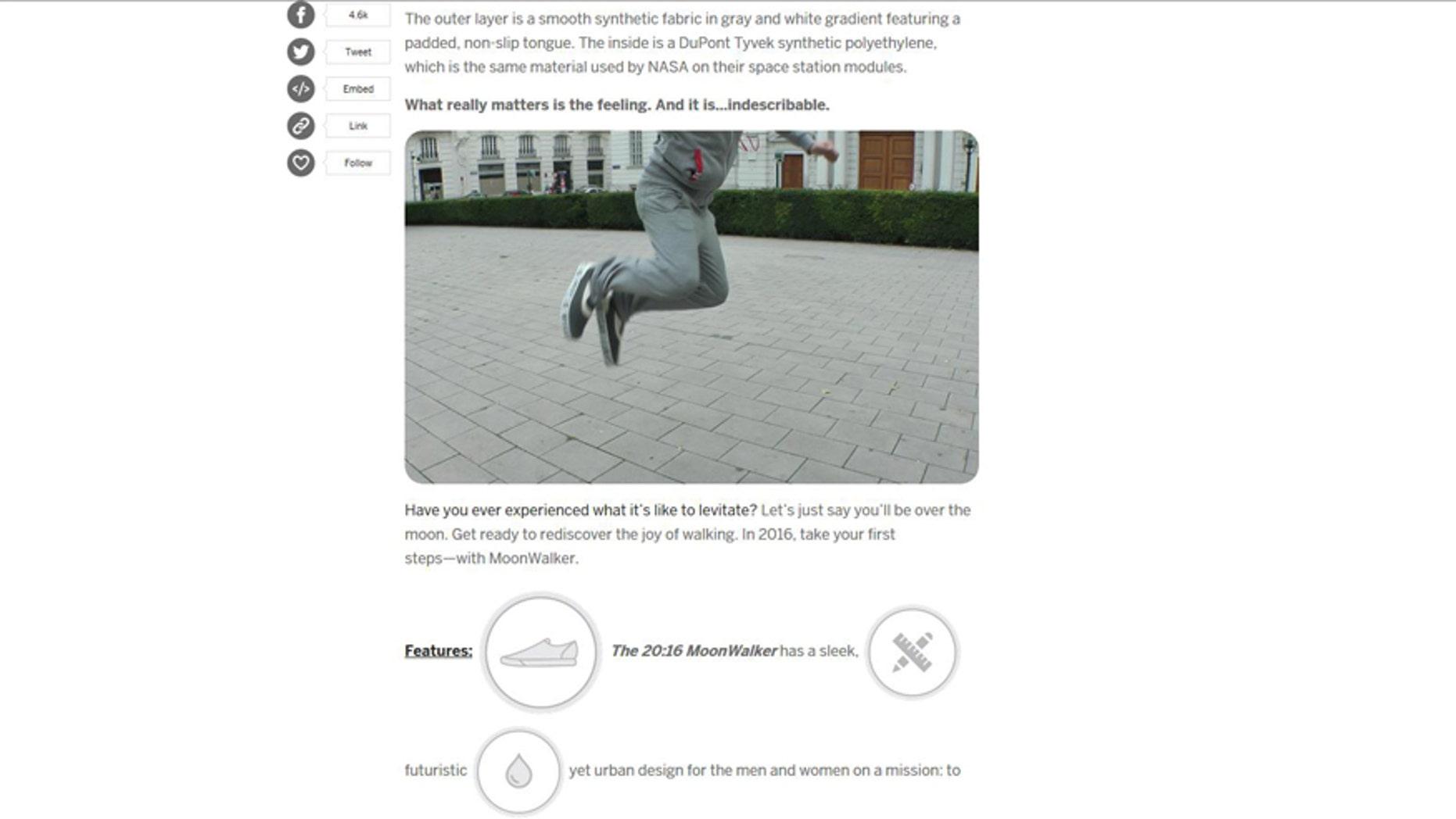 (MoonWalker screenshot from www.indiegogo.com)