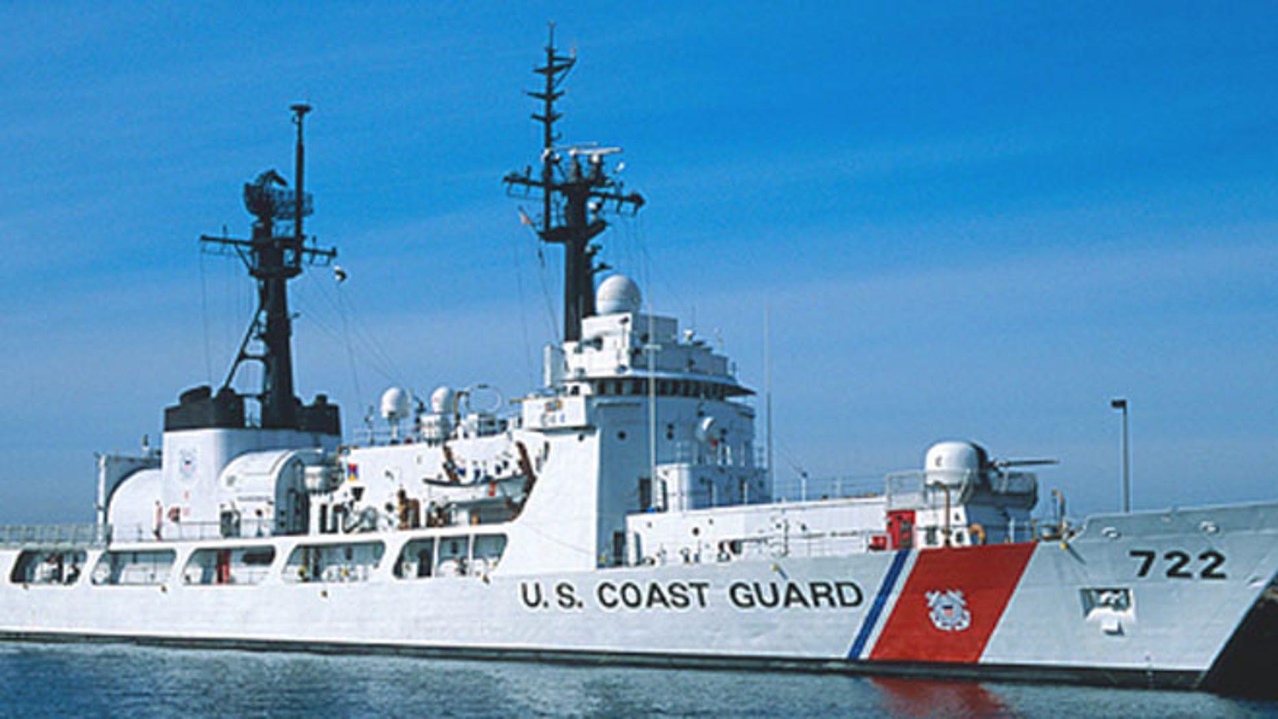 USCG cutter Morgenthau. (U.S. Coast Guard)