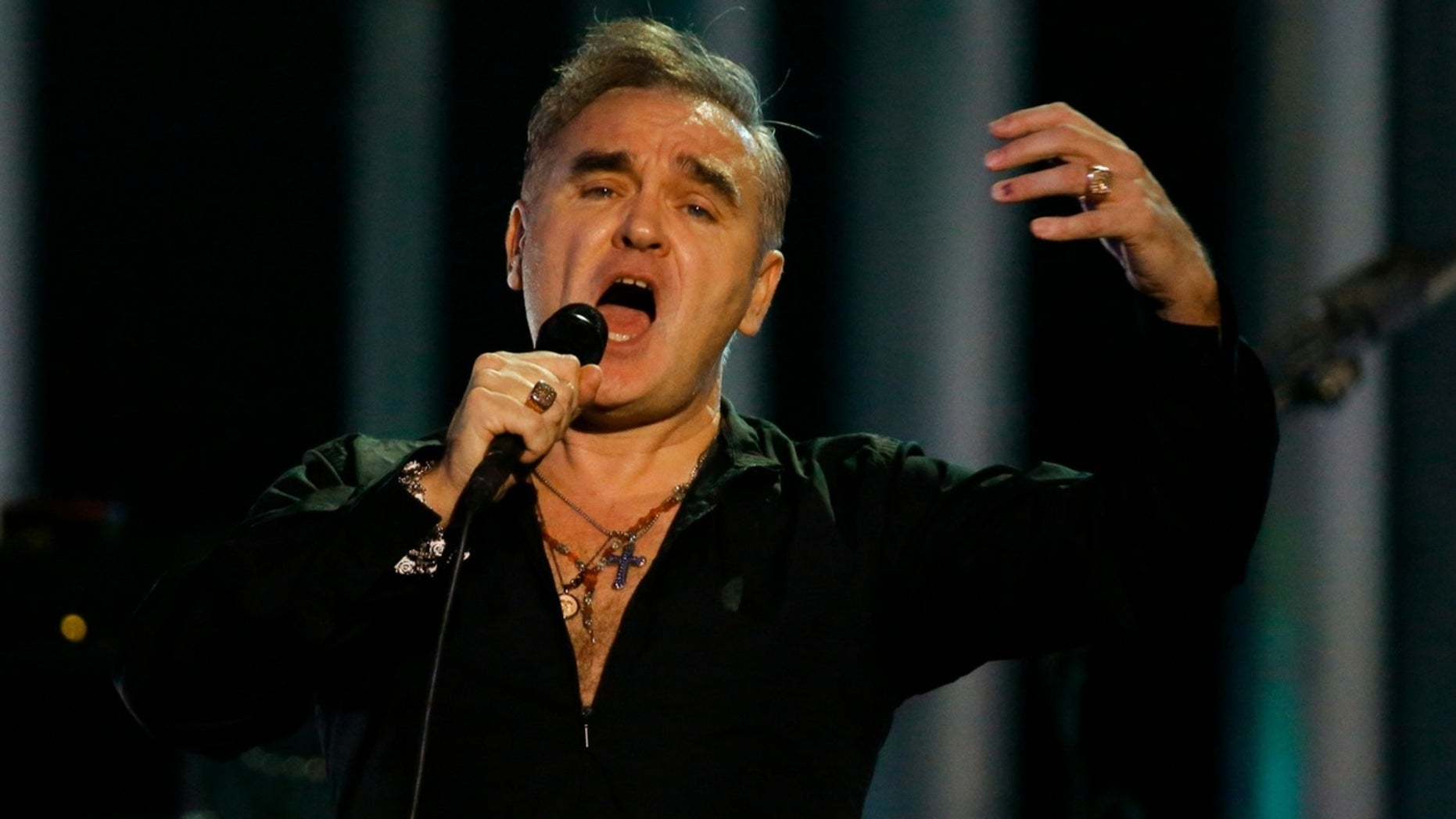 """Morrissey said in a bizarre interview that producers of halal meat could only get their certification from """"supporters of ISIS. """""""