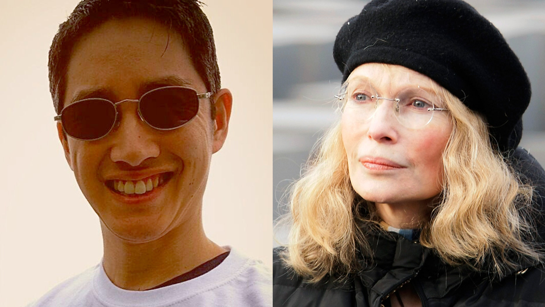 Mia Farrow's adopted son Moses defends his father Woody Allen and accuses Farrow of abuse.