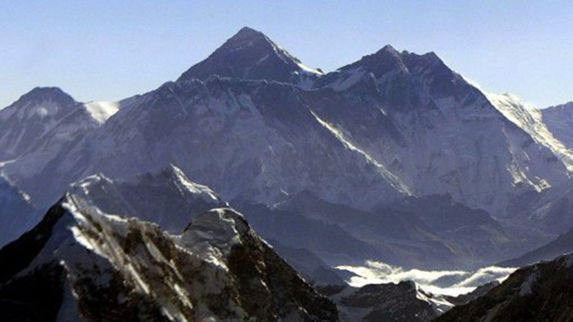 Mount Everest is believed to stand at the height of 8,848 meters (29,029 feet).