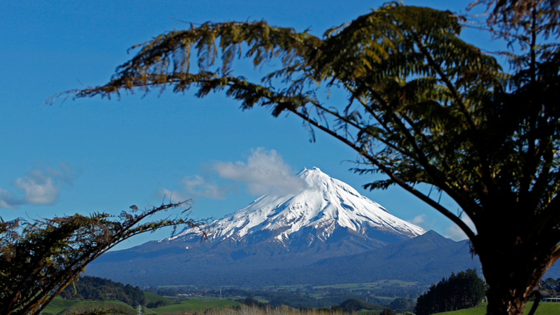 A view of Mount Taranaki near New Plymouth in New Zealand, September 26, 2011.