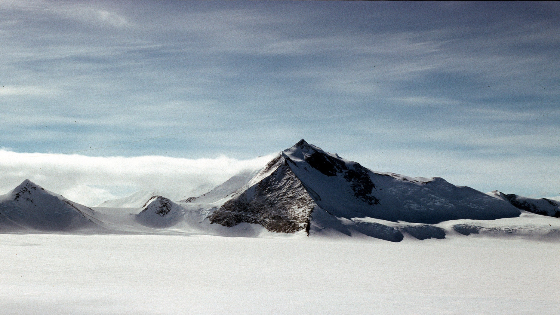 A view of Mount Hope from the East. (Photo Credit: Alan Vaughan/British Antarctic Survey)