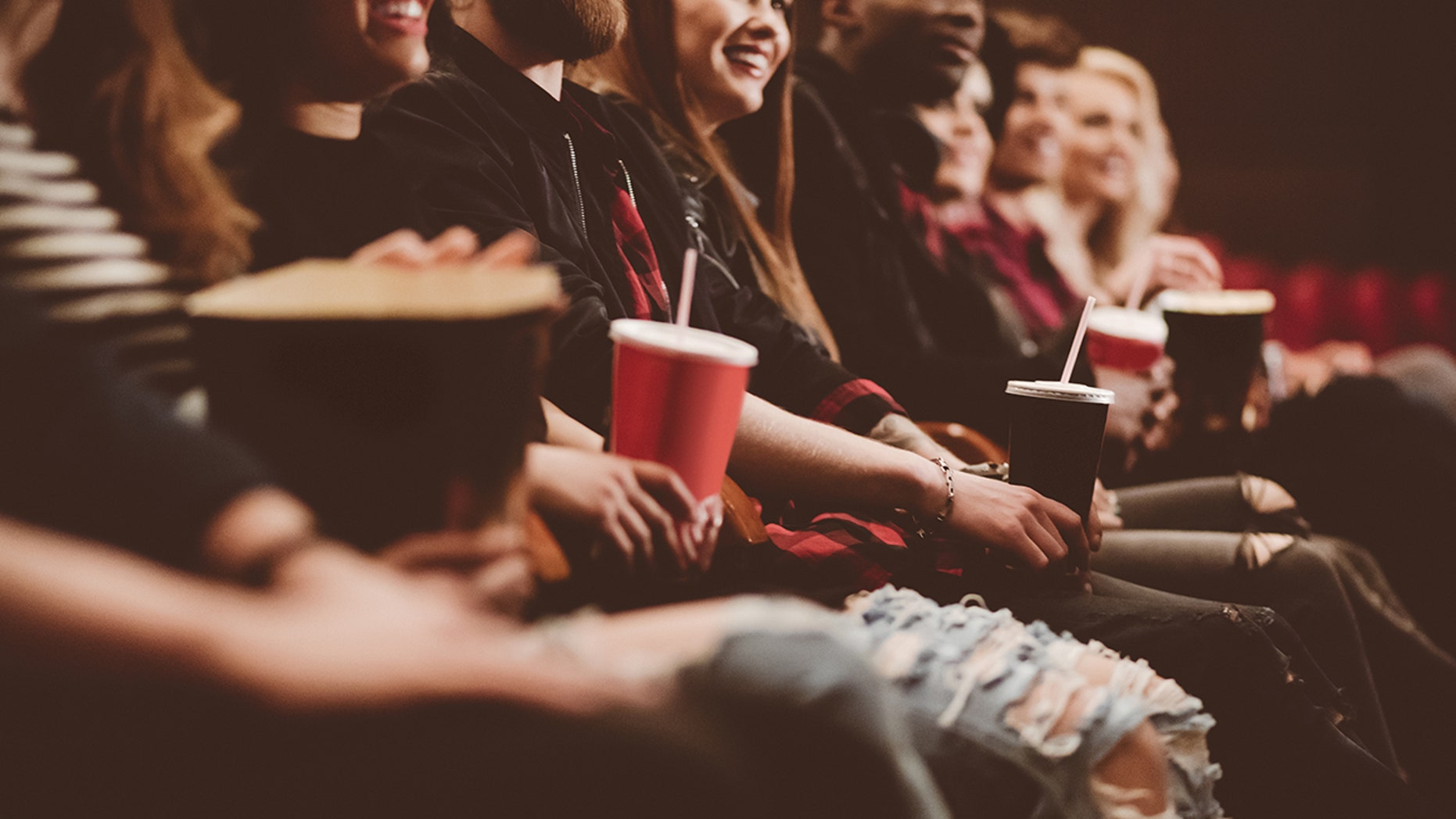 A woman's movie theatre snack has gone viral.