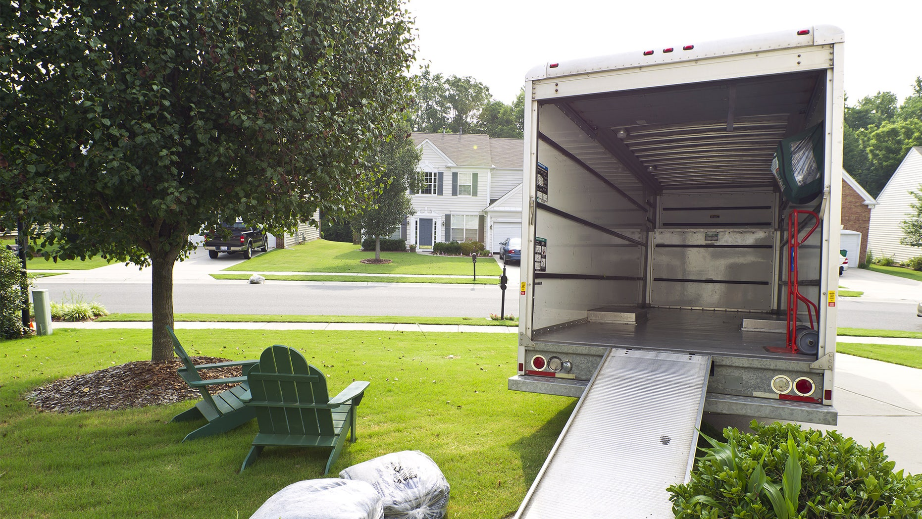 moving in on driveway