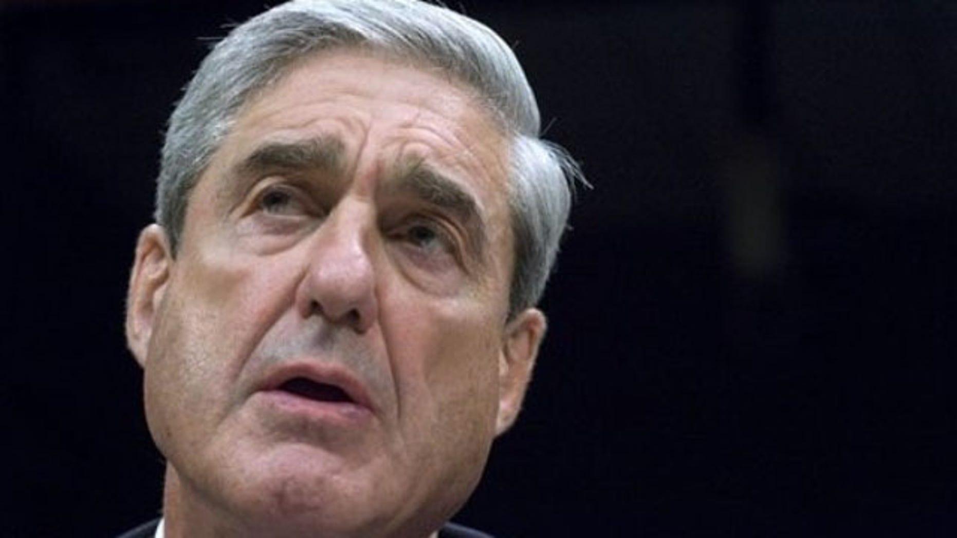 Oct. 6, 2011: FBI Director Robert Mueller testifies on Capitol Hill in Washington.