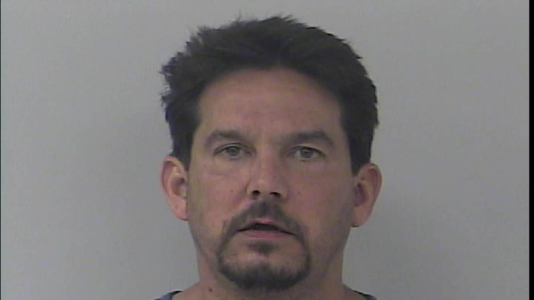 The 47-year-old was arrested on a battery charge, according to his inmate record.