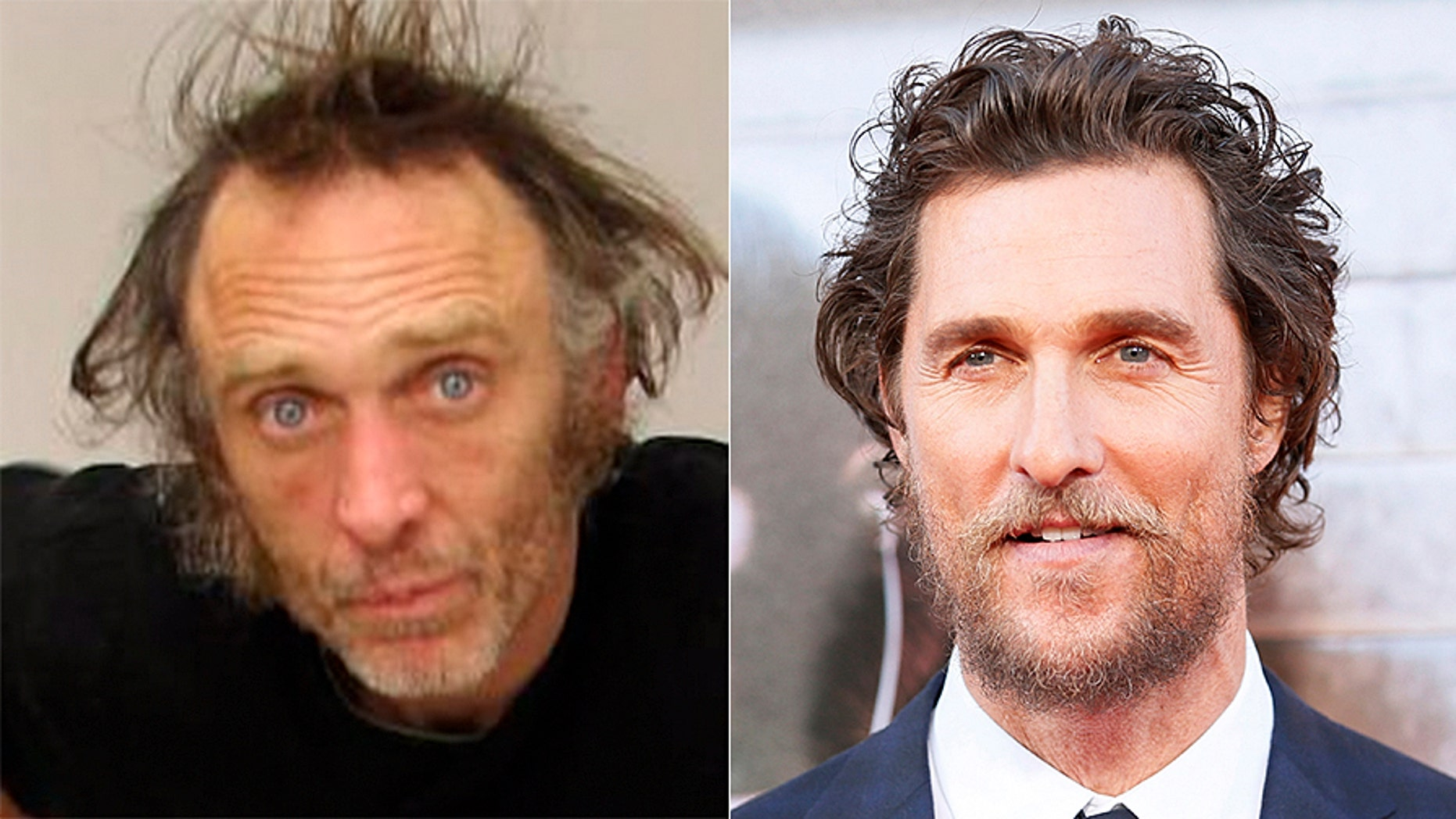 Troy Miller was arrested after allegedly stealing a car. He initially told cops he was Matthew McConaughey.