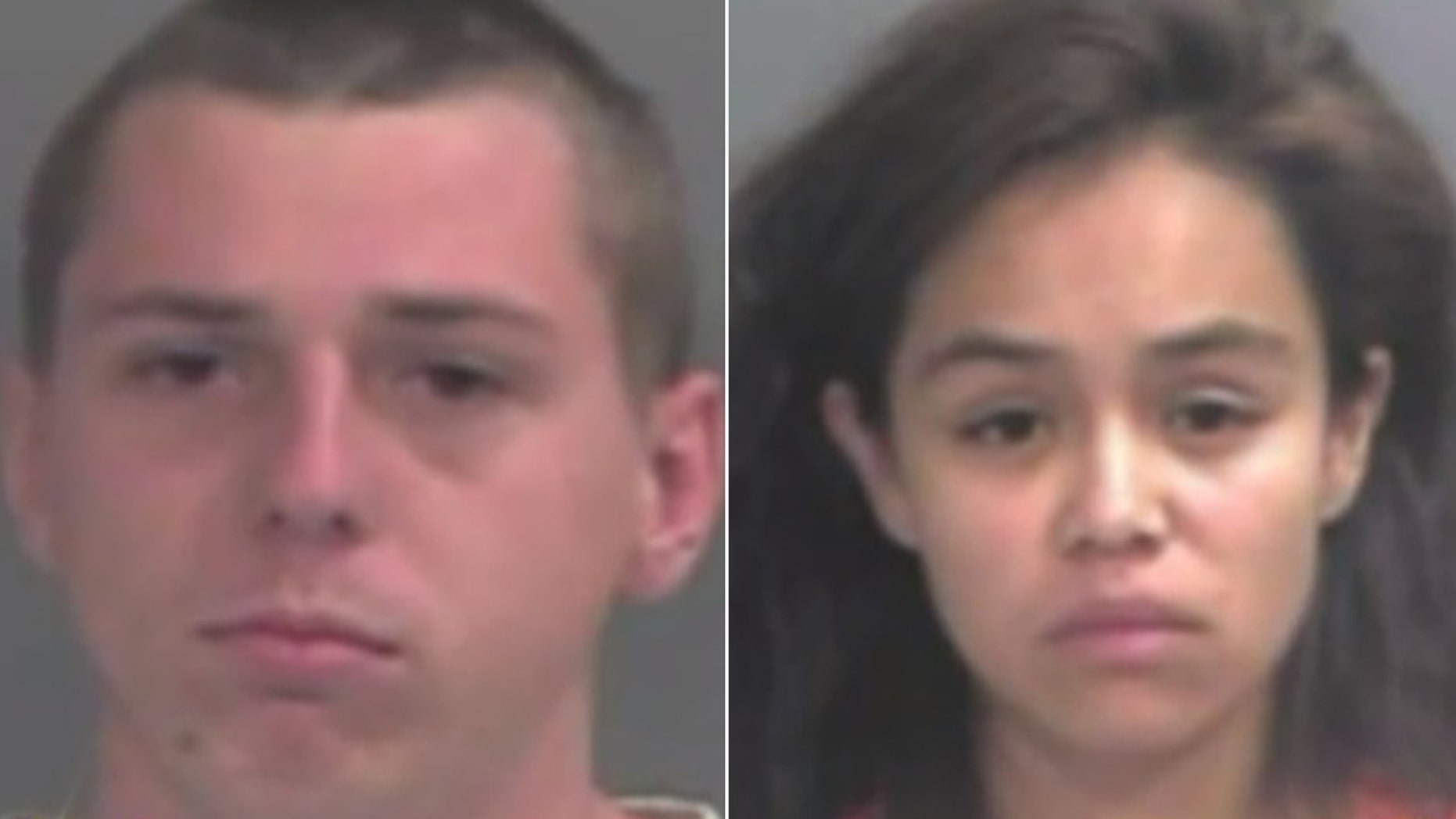 Tyler Hobbs, 21, and Maria Giron-Molina, 21.