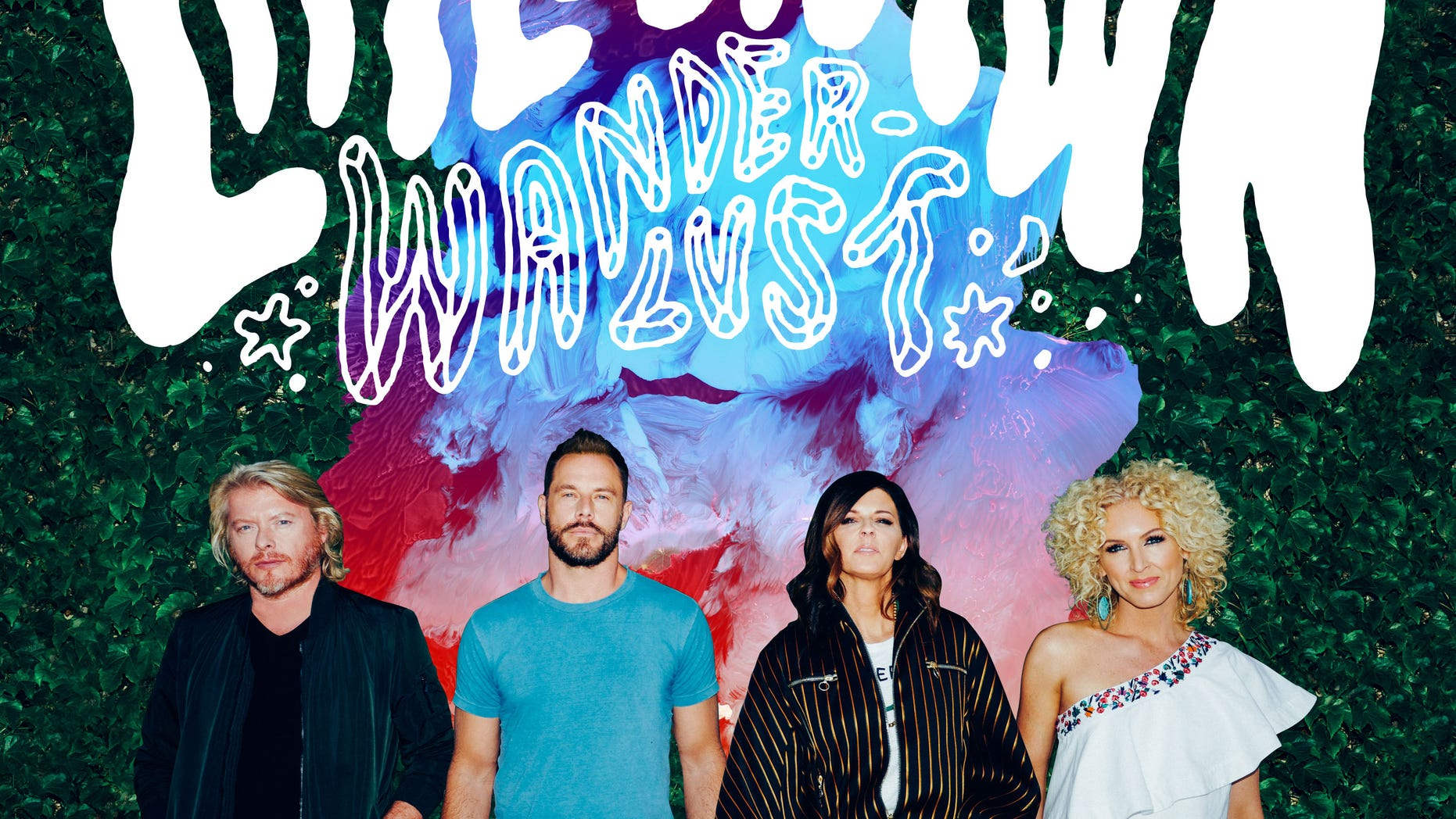 """This CD cover image released by Capitol Nashville shows """"Wanderlust,"""" by Little Big Town. (Capitol Nashville via AP)"""