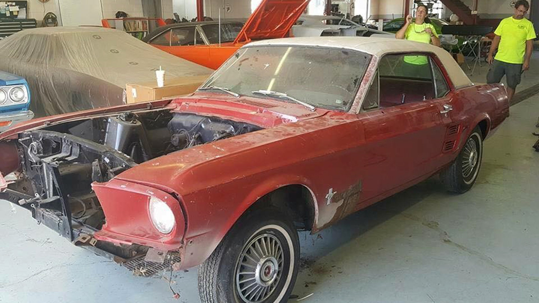 Harry Donovan's 1967 Ford Mustang got an amazing makeover years after having been stolen.